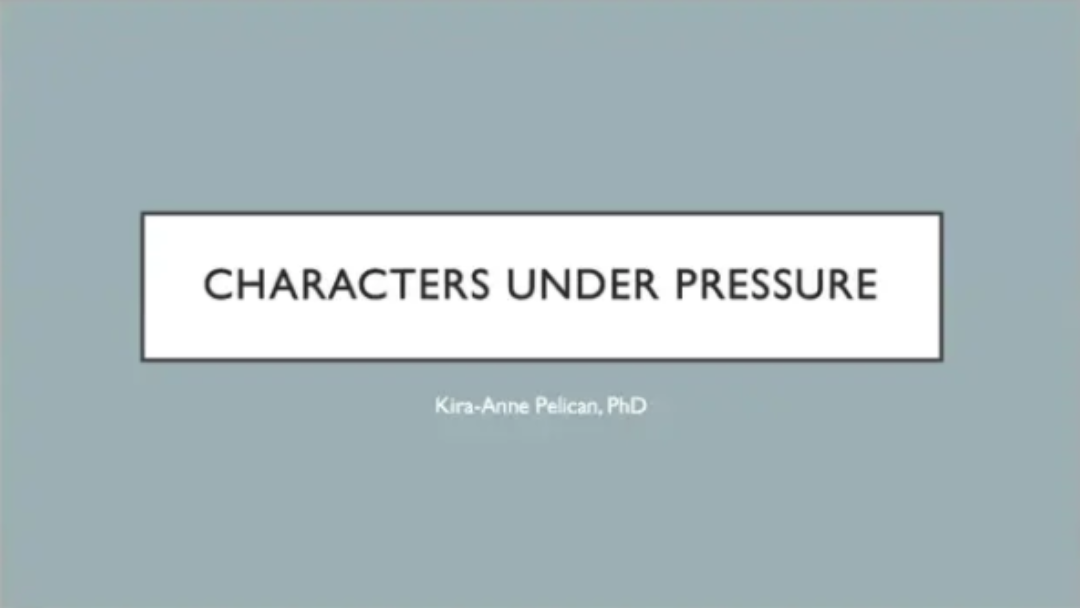 The Lockdown Sessions: Writing Characters Under Pressure