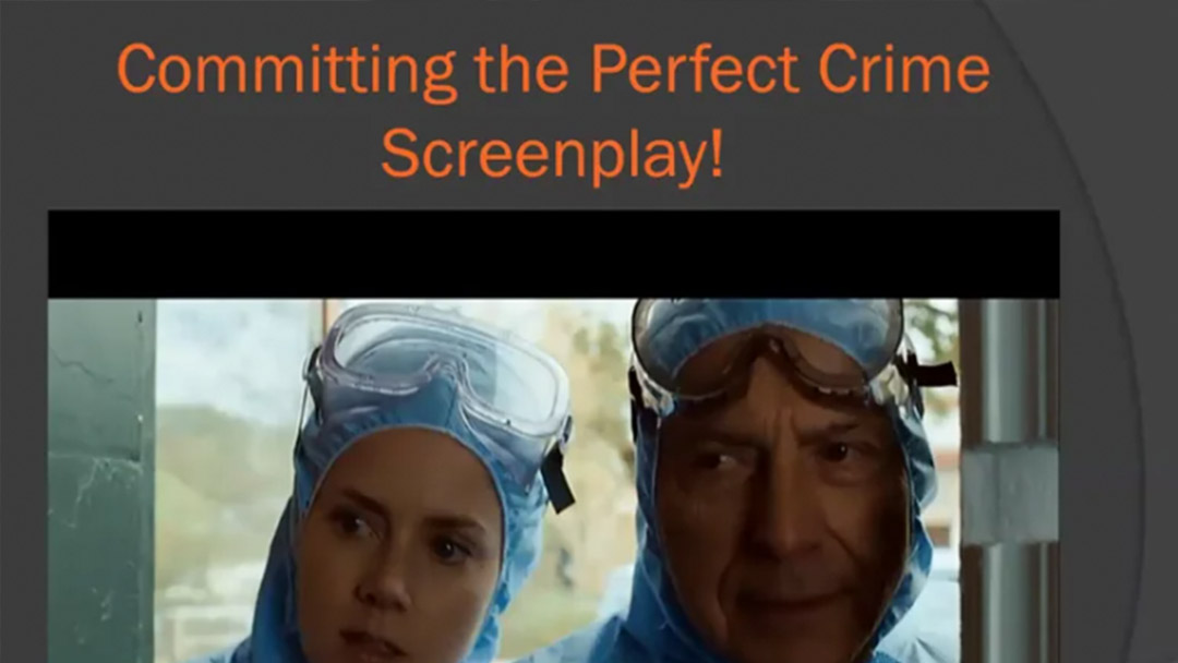 The Lockdown Sessions: Committing the Perfect Crime Screenplay