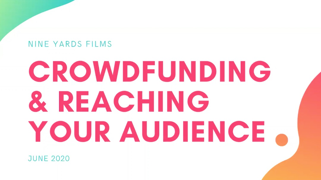 The Lockdown Sessions: Crowdfunding and Reaching Your Audience